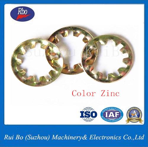 Stainless Steel DIN6797j Internal Teeth Lock Washer Metal Washers Spring Washer
