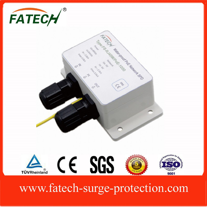 Water proof PoE surge protector 1000M