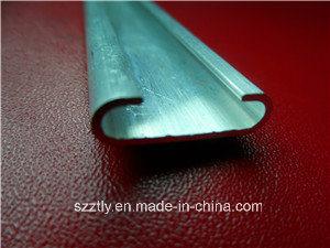 6063 /6061/6060/6082 etc Custom Aluminium Extrusion Oval Tube