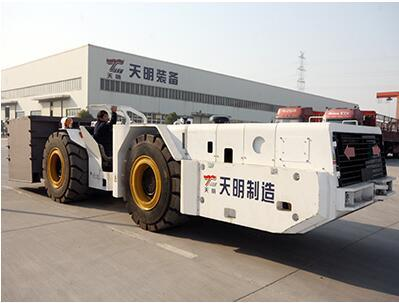 30t Special Mining Use Carrier Fork Shield Hauler