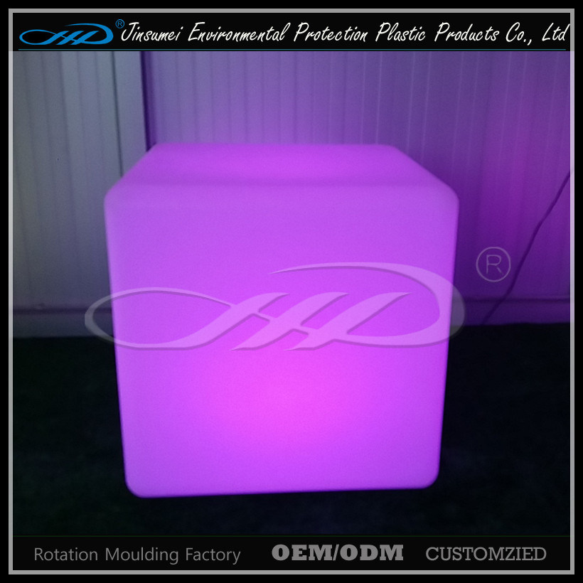 LLDPE Material Rotational Moulding Plastic Modern LED Furniture