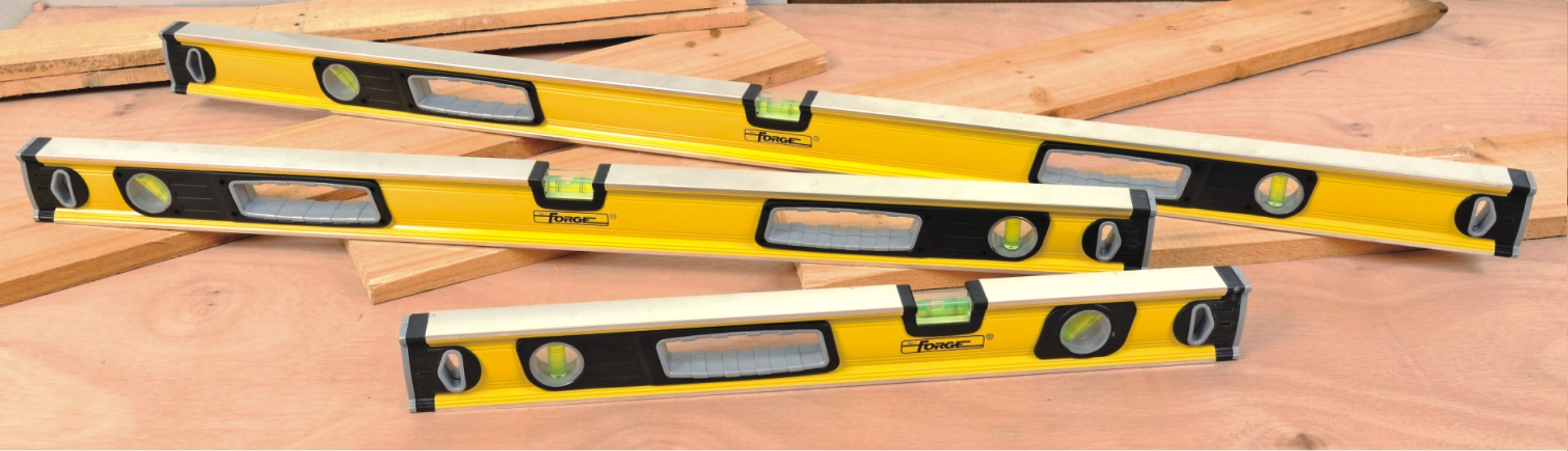 "High Accuracy 24"" Heavy Duty Aluminum Box Level Spirit Level"