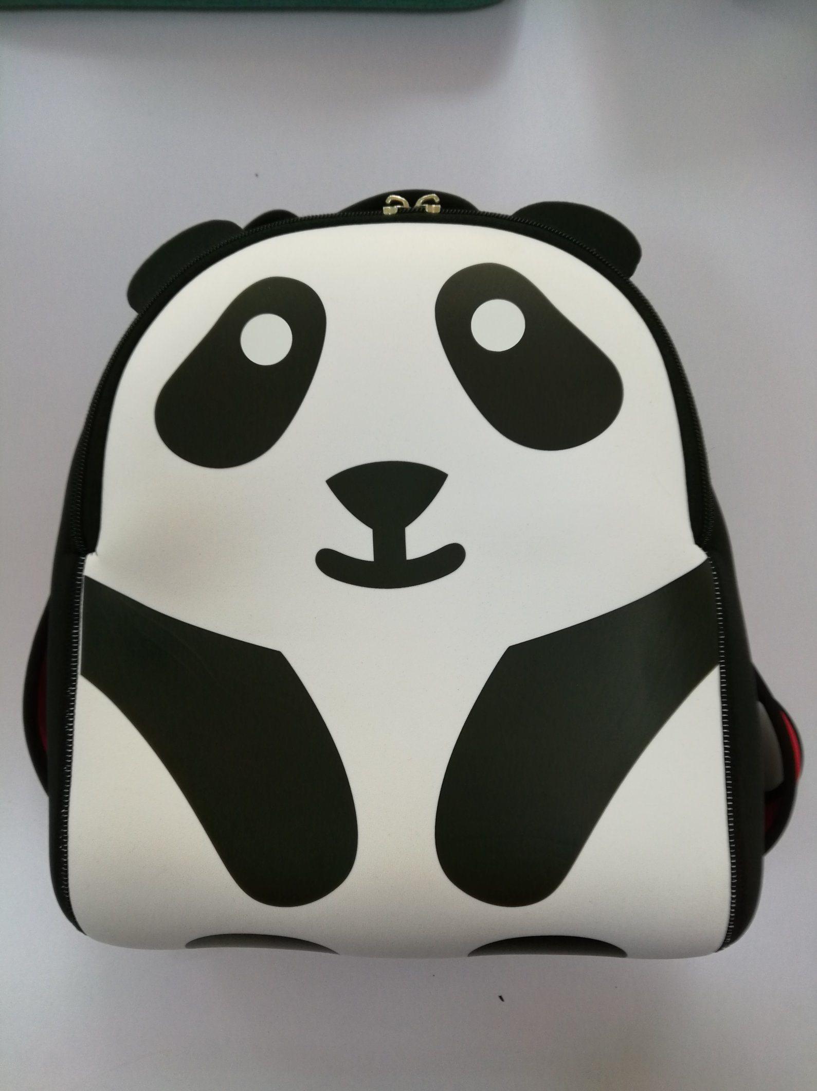 Cartoon Animation Giant Panda Neoprene Children School Backpack