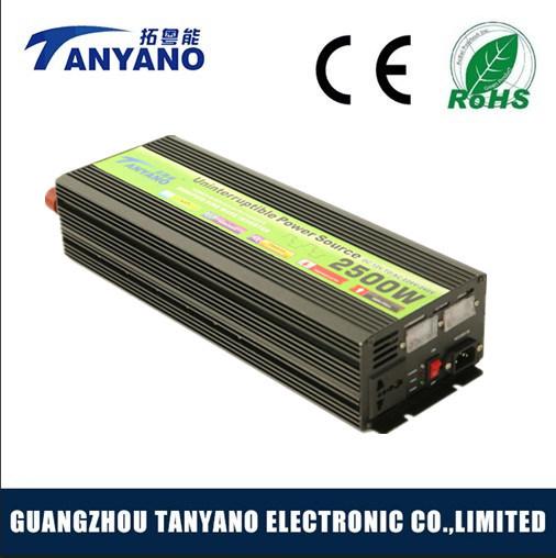 2500W 12V DC to 110V AC off Grid Solar Inverter with UPS