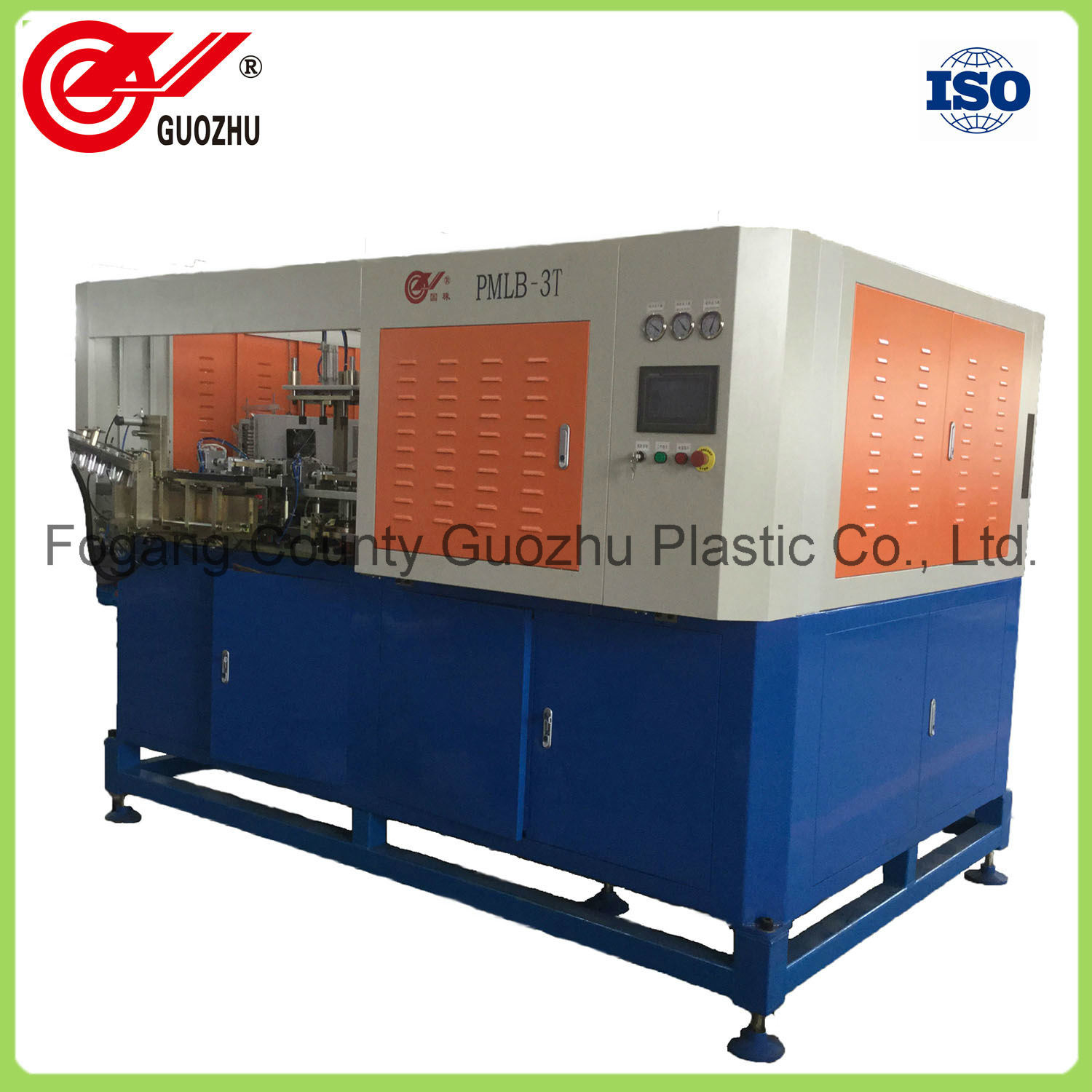 Pmlb-03t Automatic Continuous Heating Linear Bottle Blowing Machine