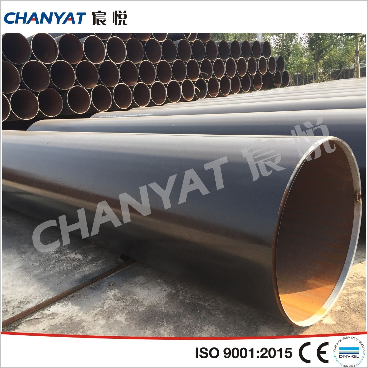 Line Steel Welded Pipe API 5L (GrB, GrBN, X52)