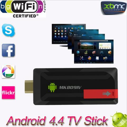 Superior Quality High Definition Mk809IV Android 4.4 TV Dongle TV Box