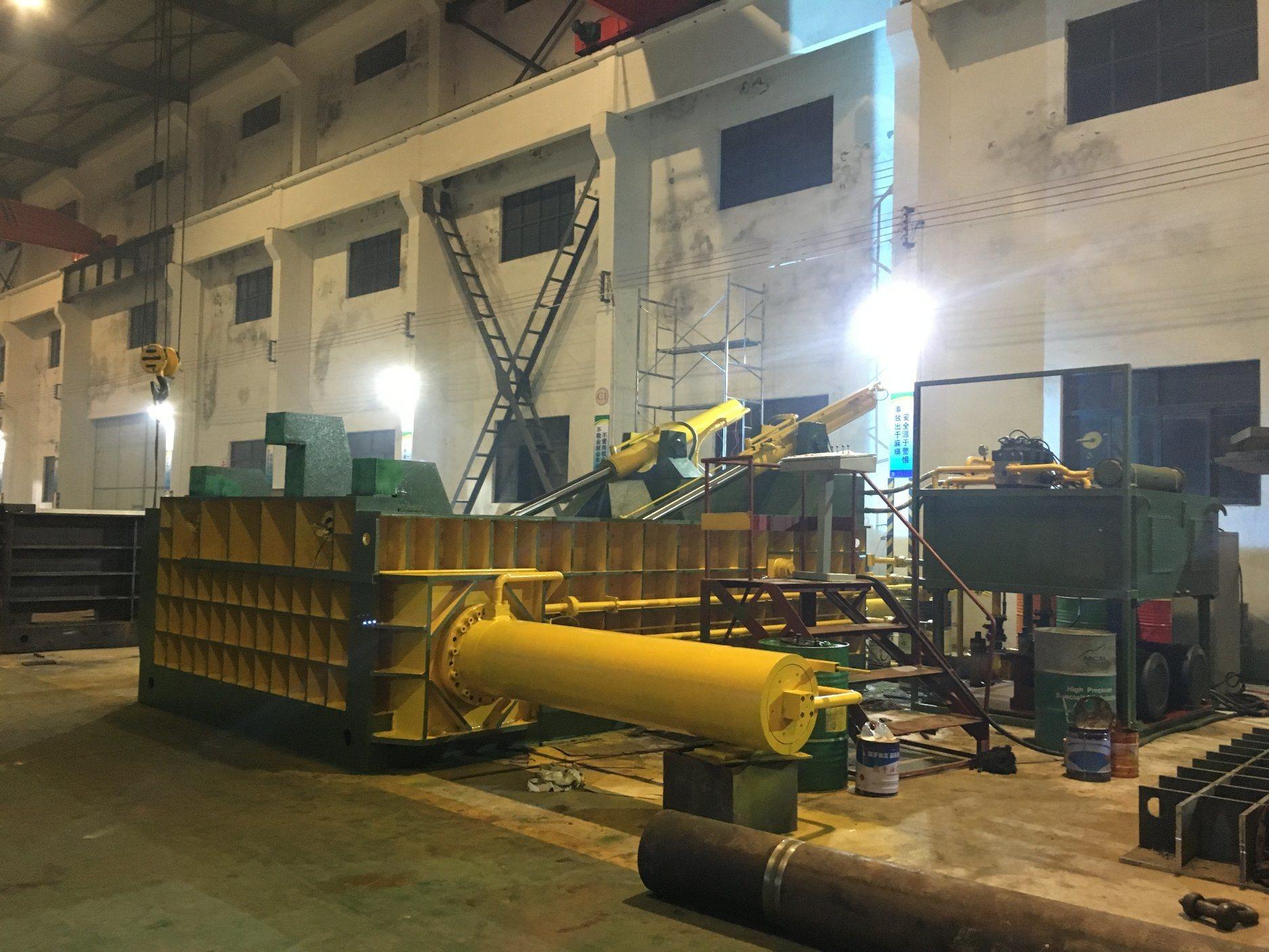 Y81f-800 Scrap Metal Baler Machine