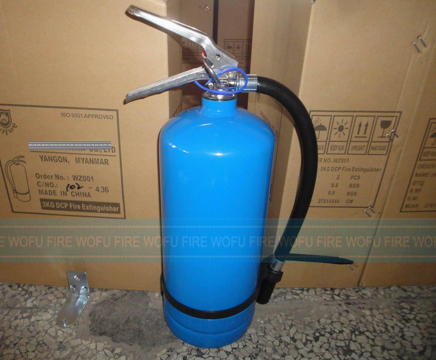 3kg Fire Extinguisher Blue Cylinder