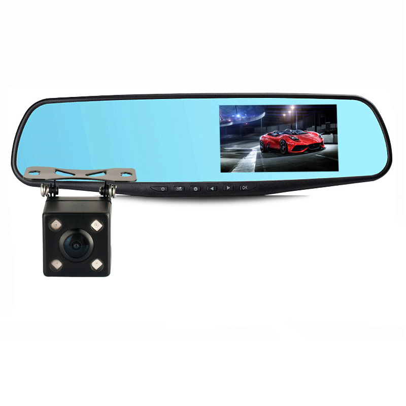 Full HD Two Cameras with Car DVR