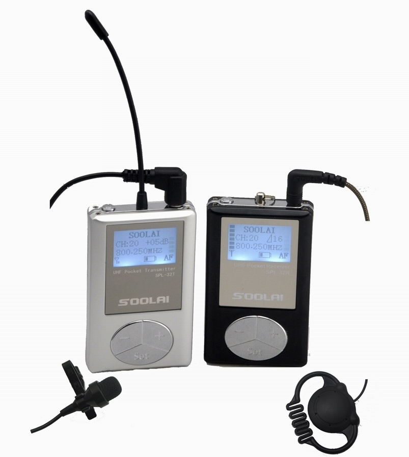 Audio Tour Guide/Tour Guide Transmitter Receiver/Radio Guide
