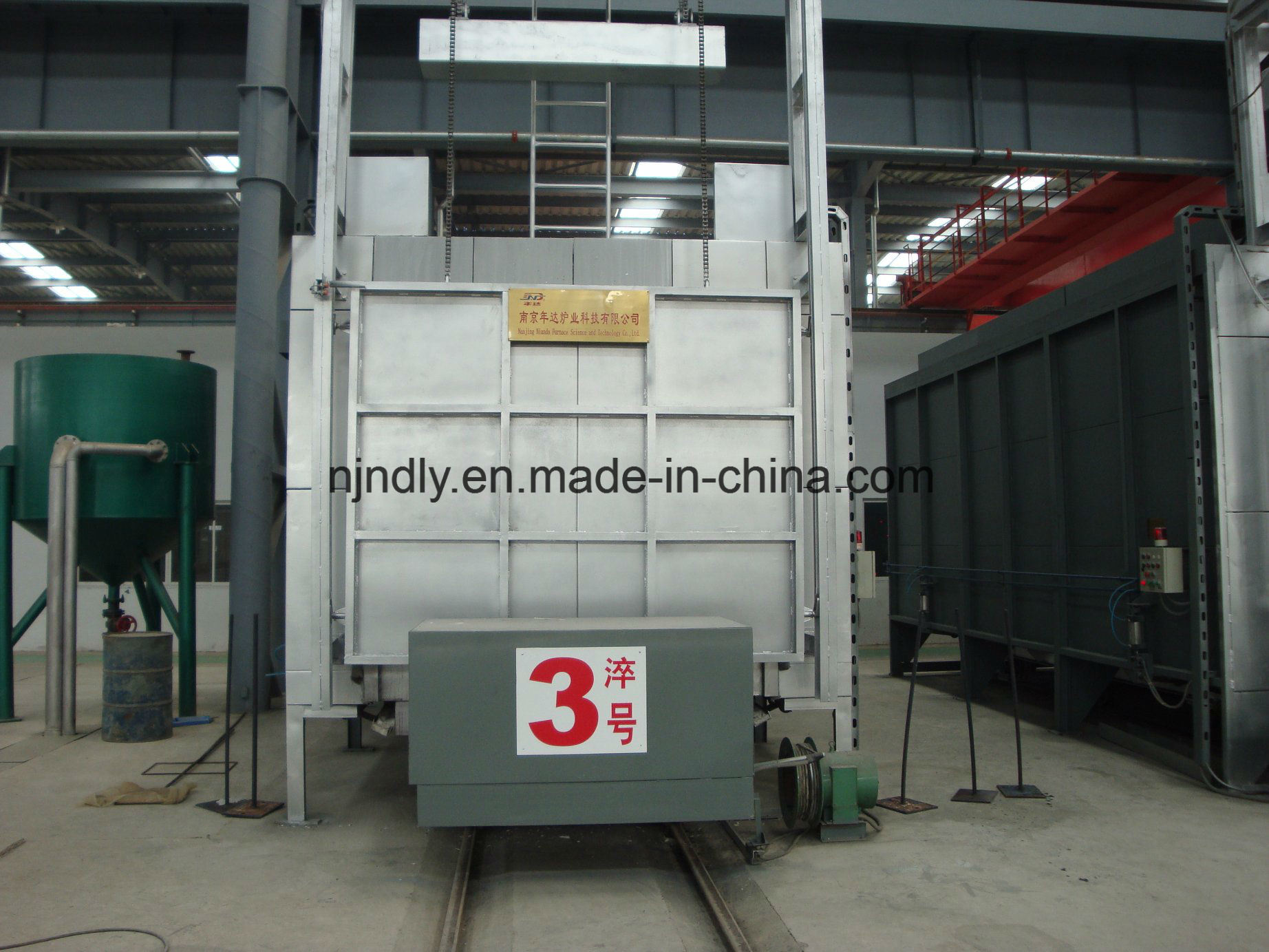 Bogie Hearth Annealing Furnace for Mill Roller