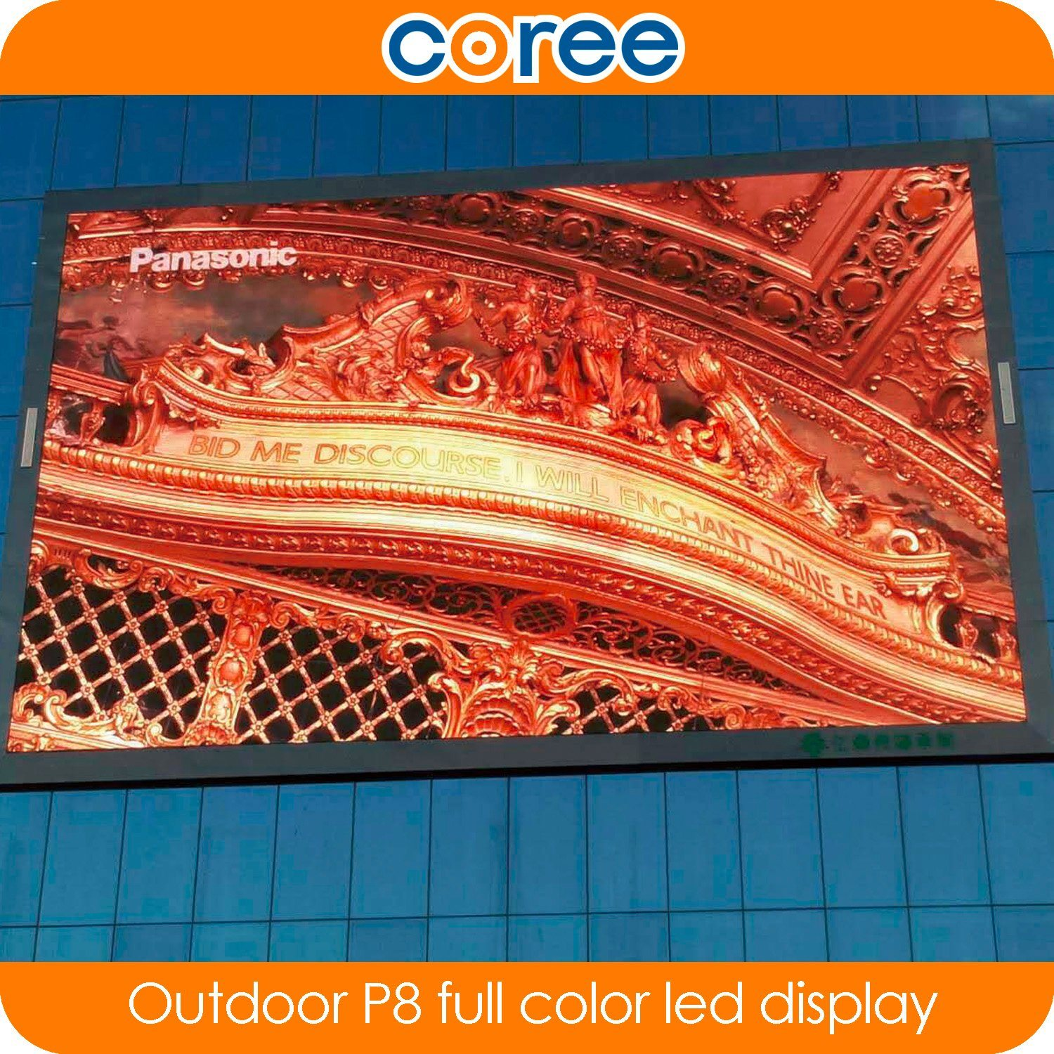 Outdoor P8 High Brightness Full Color LED Display