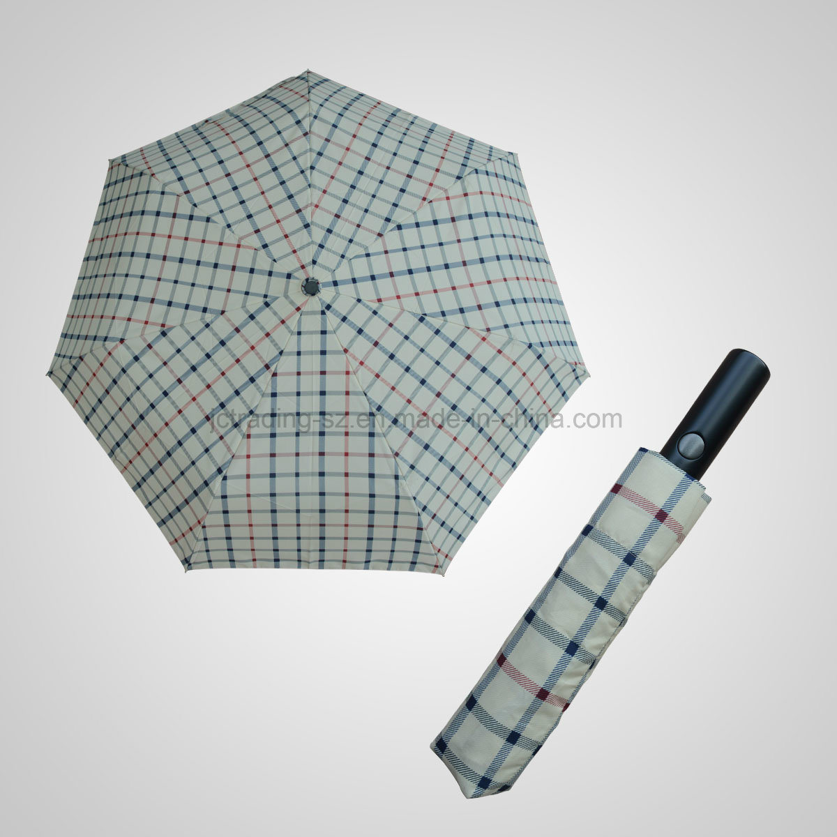 3 Fold Automatic Open&Close Lady Slim Umbrella (JF-AOC303)