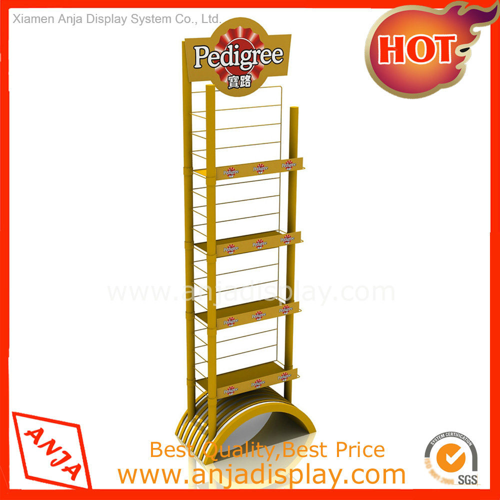 SGS Approved Metal and Wood Display Shelf for Shop