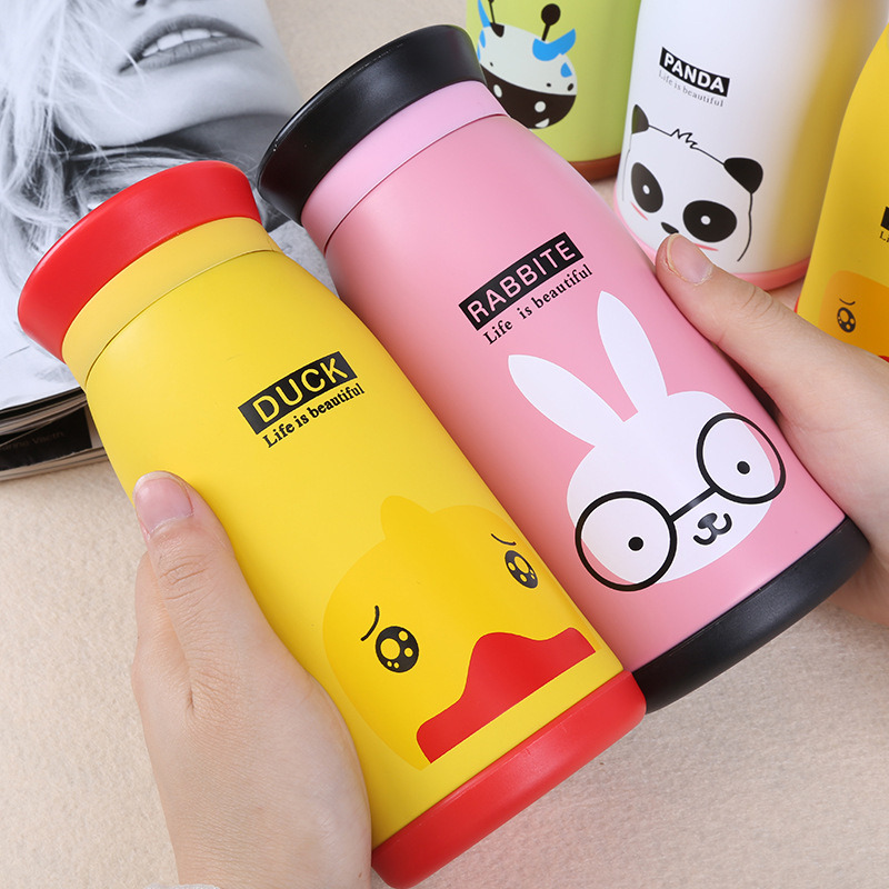 2017 New Double Wall Stainless Steel Thermos Vacuum Flask for Child