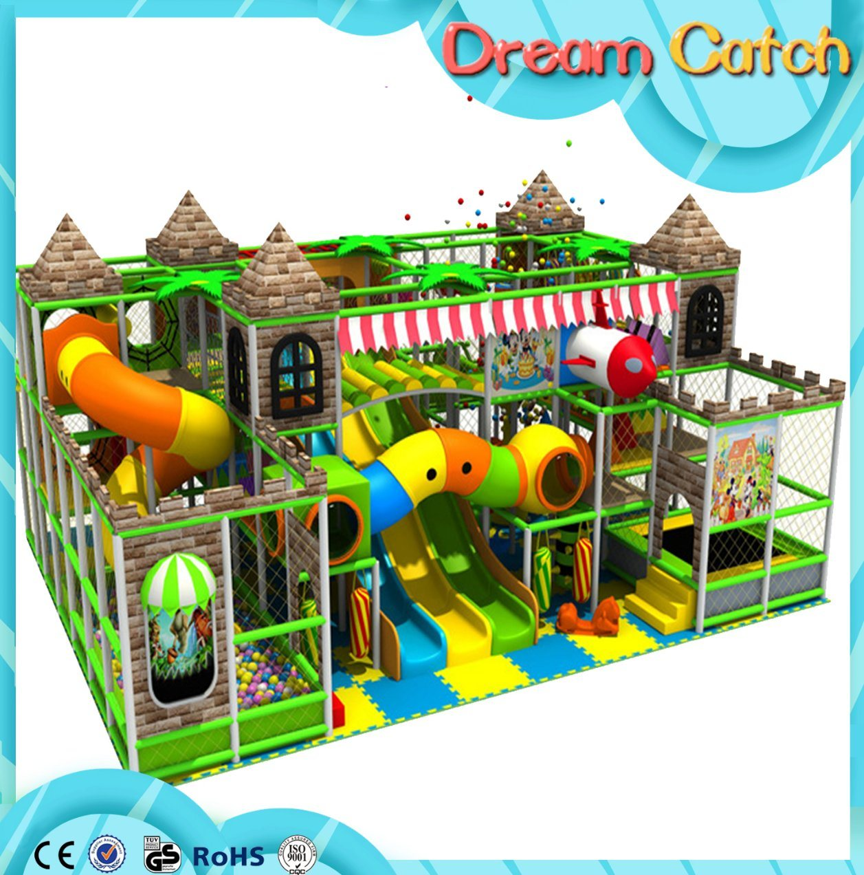 Children Toys Equipment Indoor Soft Playground for Sale