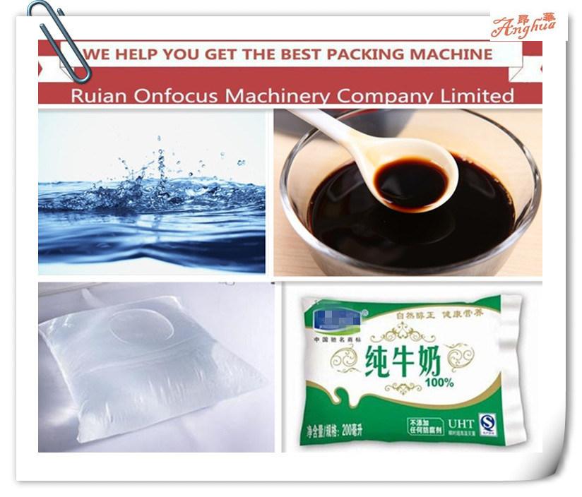 Water Bag Liquid Filling Machine