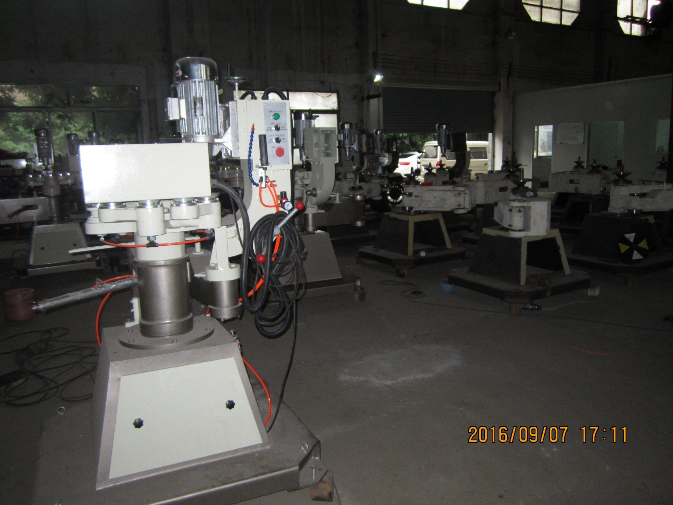 Shape Glass Edging Machine, Glass Shape Edger, Glass Profiling Grinding Machine