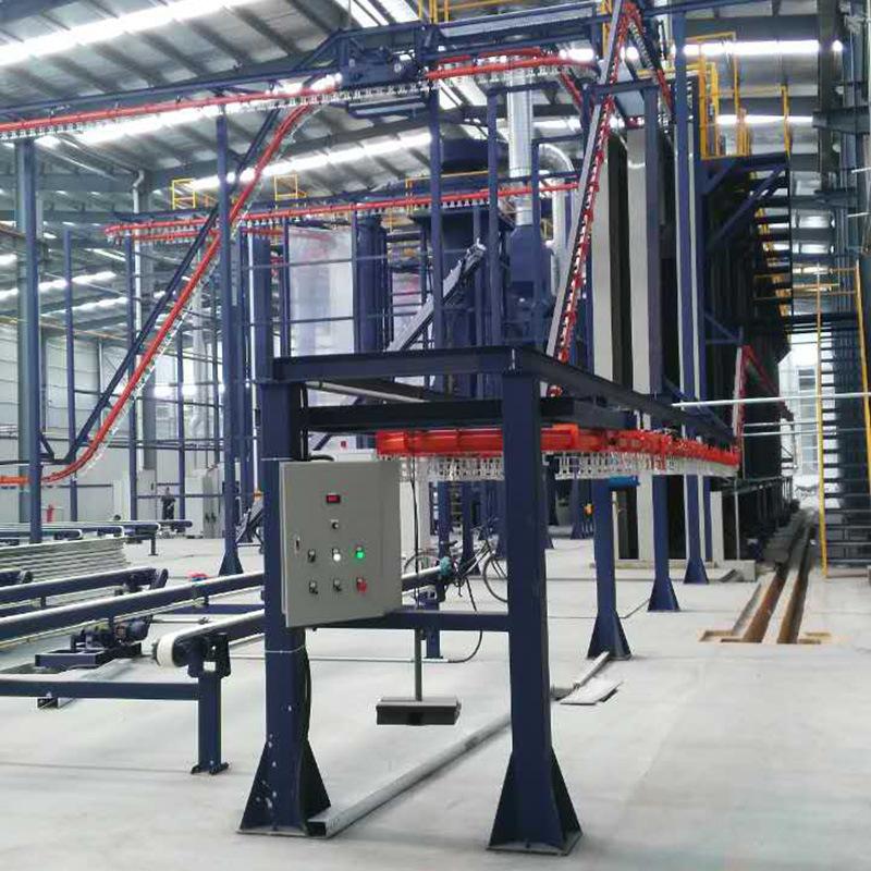 Aluminum Vertical Coating Line