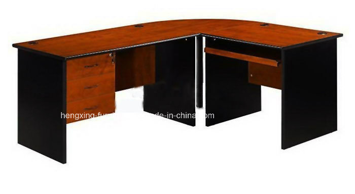 Cherry Color Classic MFC Laminated Melamine Office Table (HX-FCD018)