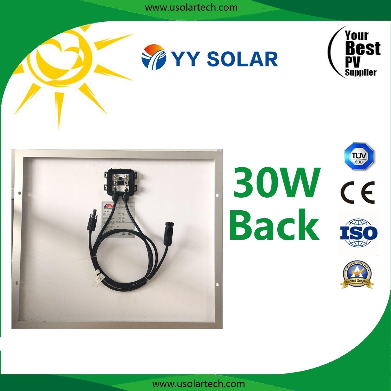30watt Beautiful Appearance Solar Panel for Solar Signal Lamp