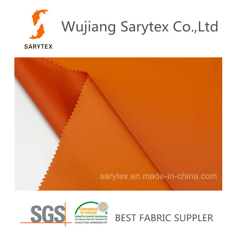 C926/1 80%Polyester 20%PU 100dx75D 152X85 57′133gr/Sm Pd Wr/C8 PU3000/3000mm Breathable Coating.