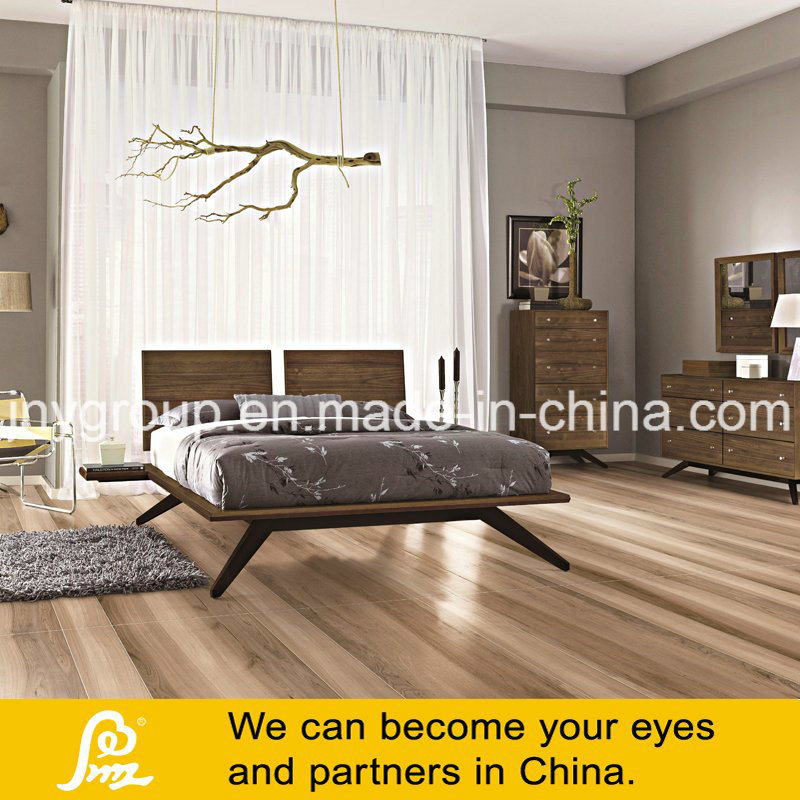 Digital Printing Wooden Rustic Porcelain Tile for Floor and Wall