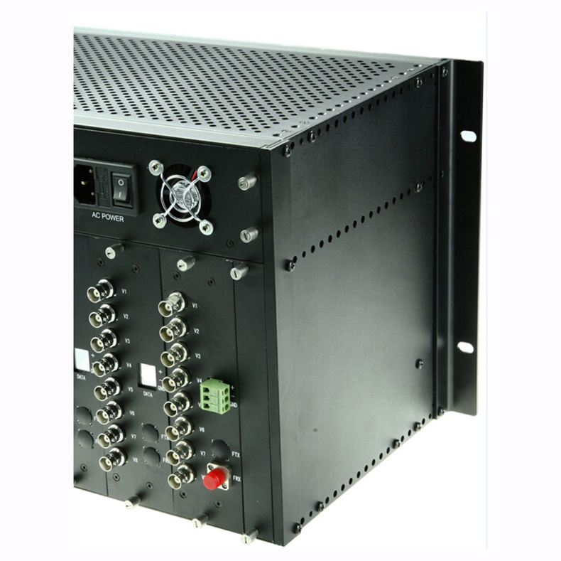 64 Channel Video Fiber Optical Transmitter and Receiver