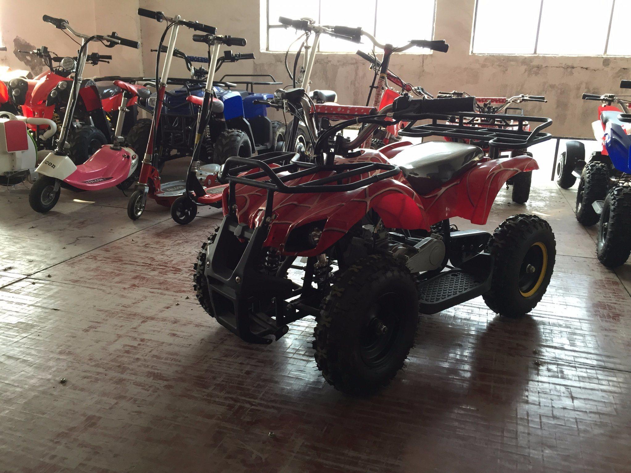 A7-010A 49cc Mini Gas ATV Quad for Kids