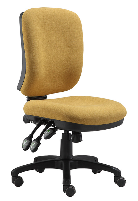 Low Back Computer Fabric Office Chair Executive Office Foam Chair