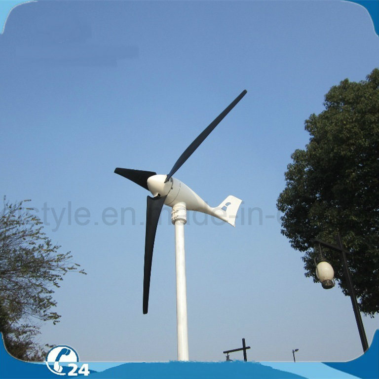 12V 24V 100W/200W/300W/400W Permanent Magnet Generator Horizontal Axis Three Blades Wind Turbine