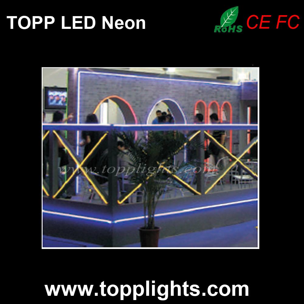 Desktop LED Light Sign Neon Board on Bakery Clothes Shop