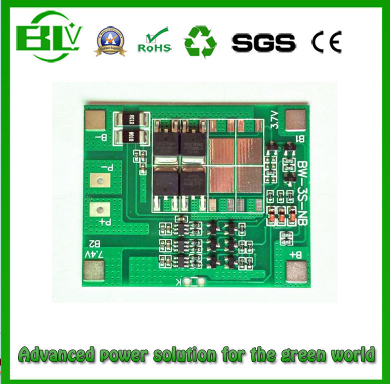 Lithium Battery PCB/PCM 3s13V5a Li-ion/Lithium Battery for Heating Clothes/UPS