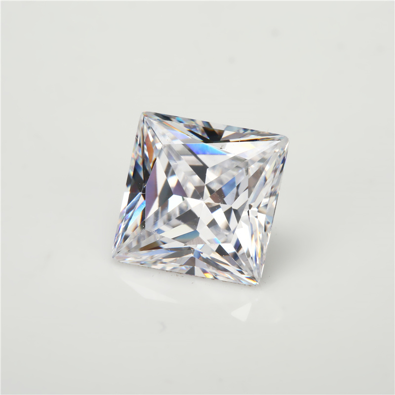 Wholesale CZ Gems Princess Cut Cubic Zirconia Aaaaa