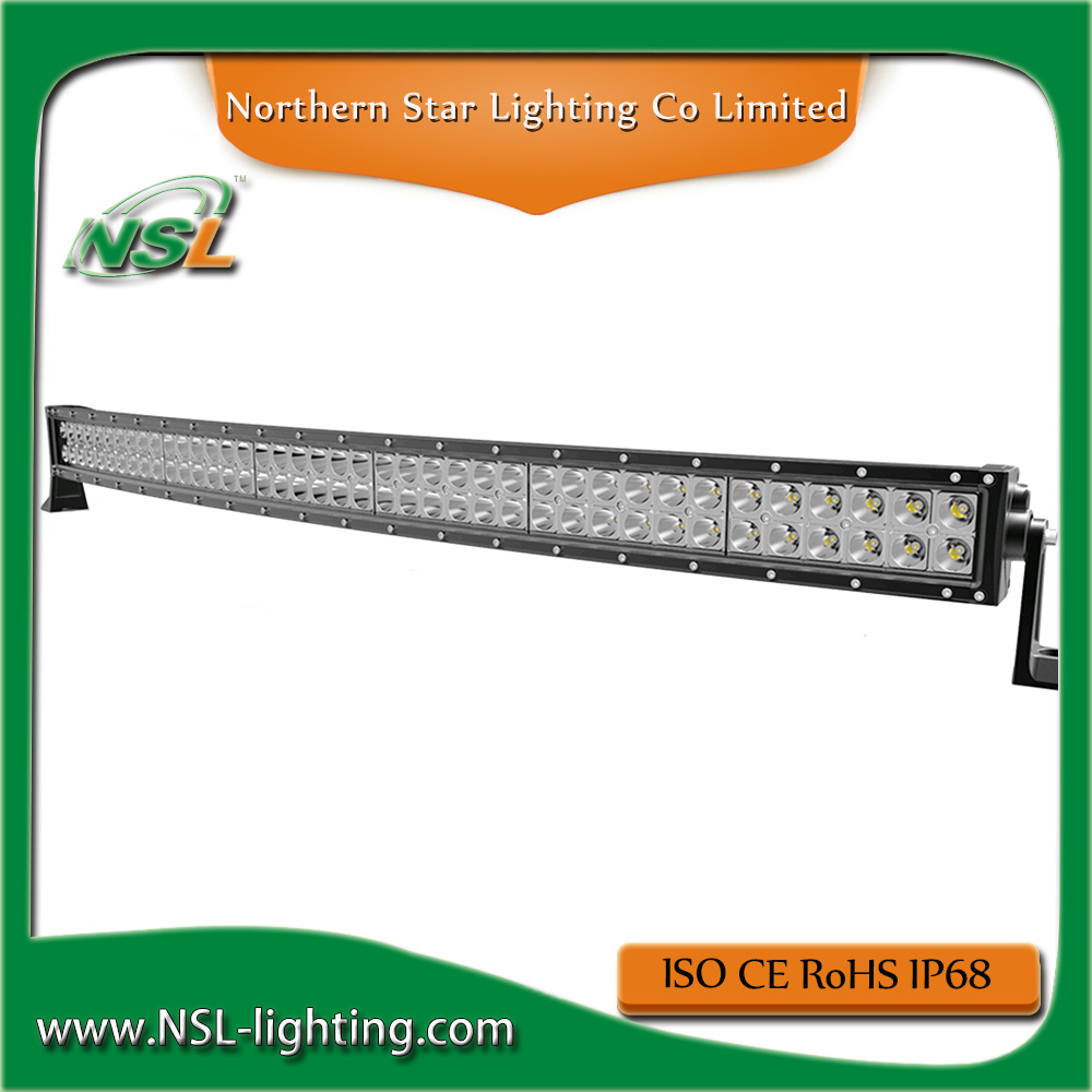 Curved Light Bar LED Offroad 288W 50inch CREE Chip Super Bright Good Quality Longer Lifespan IP68 Waterproof