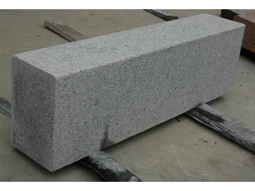 G603 Grey Chinese Natural Granite Pavers Kerb Road Stone Curbstone