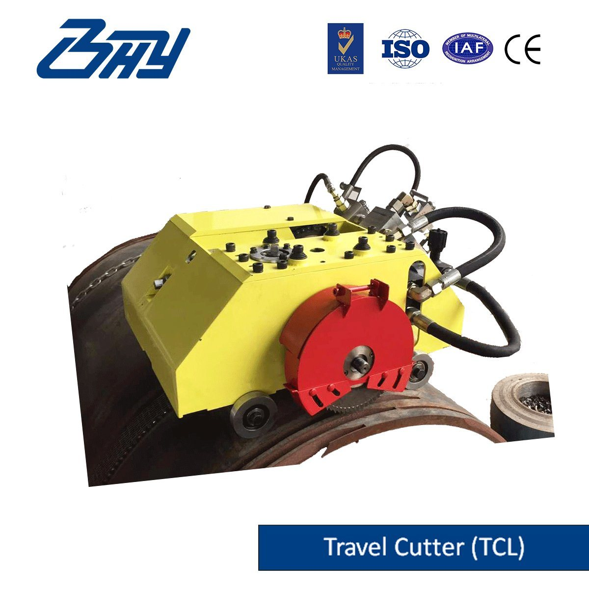 Hydraulic Travel-Cutter/ Pipe Cutting and Beveling Machine (TC0672)