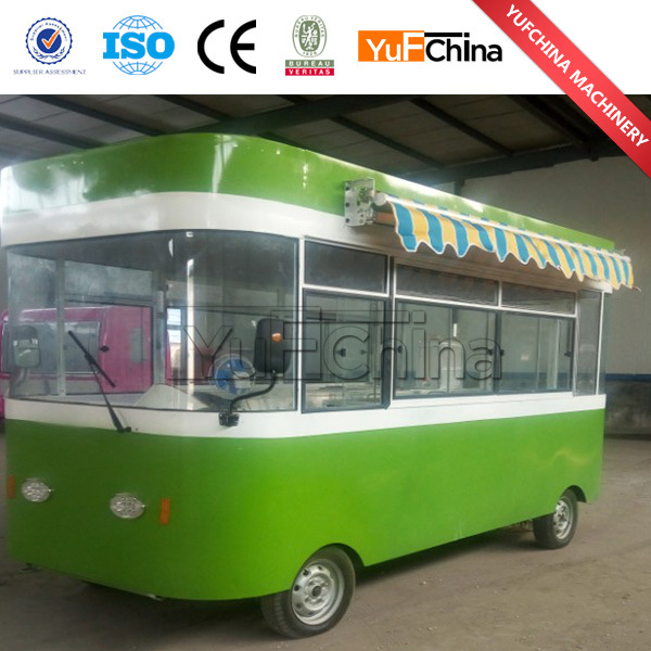 Small Vending Cart for Selling Fast Food