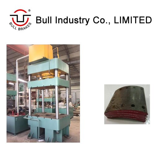 Brake Lining Machine of High Production Rate Hot Press with Turn Key Project