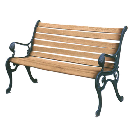 Garden Furniture Metal Bench