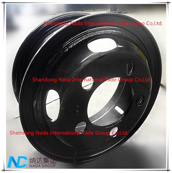 6.00G-16 Tube Rim TBR Truck Steel Wheel with TS16949/ISO9001: 2000