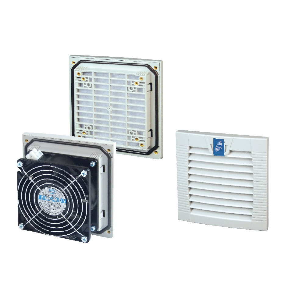 Easy-Open Filter and Fans for Enclosures (LK9803)