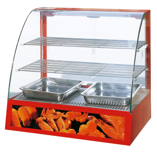 Glass Food Warmers ~ China curved glass food warmer ydh p