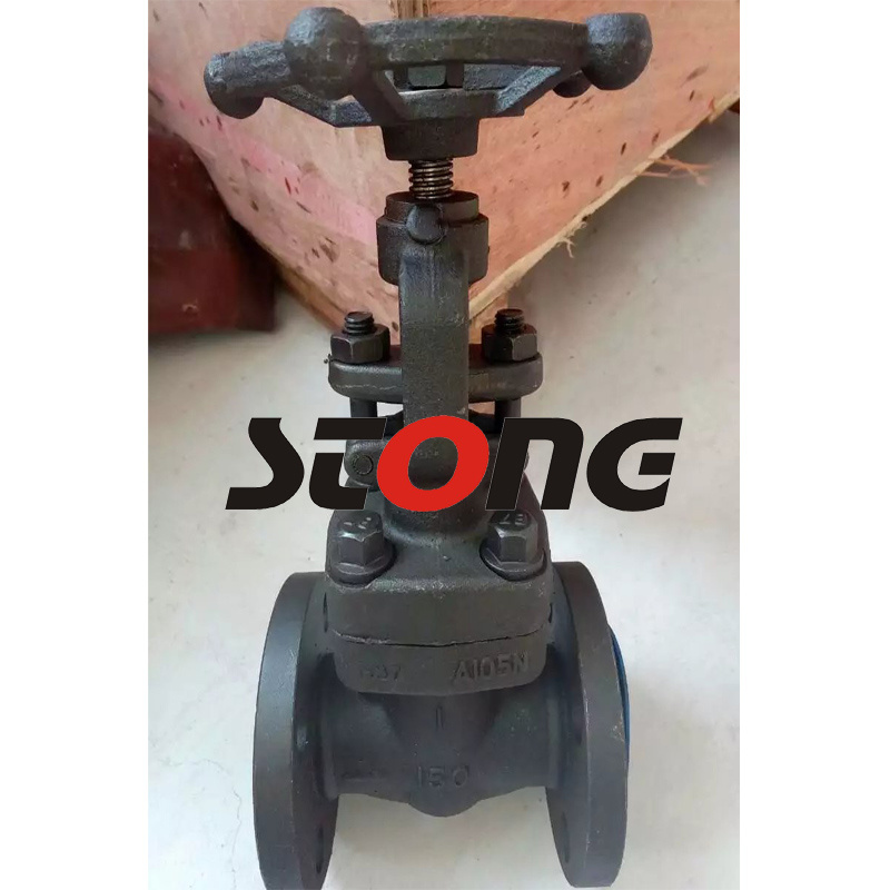 API 602 Flange End 150lb-600lb Forge Steel Gate Valve