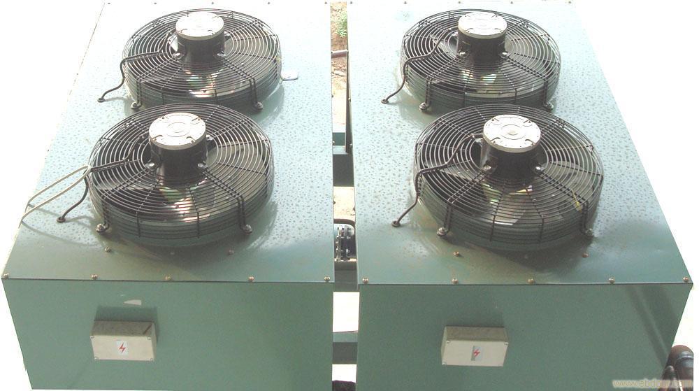 Changeur de chaleur de refroidisseur d 39 air du - Ventilateur chambre froide ...