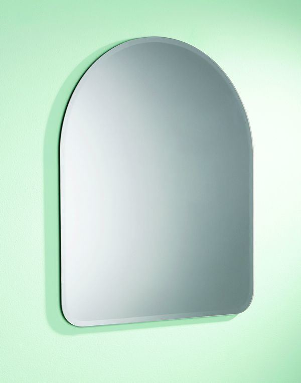 3mm-8mm Shaped Mirror Glass (SC-022) with Double Coated Paint
