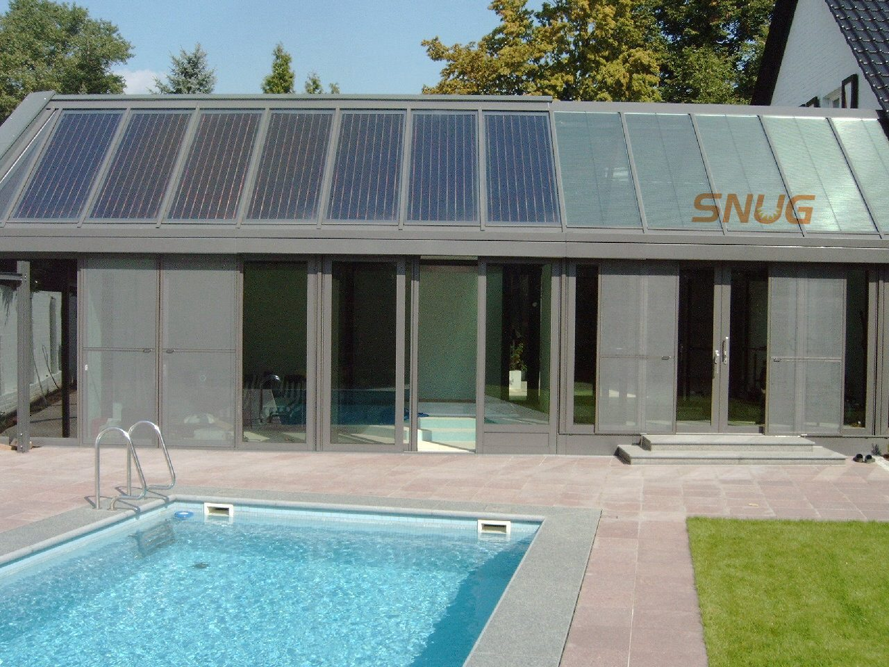 Flat Solar Panel for Swimming Pool