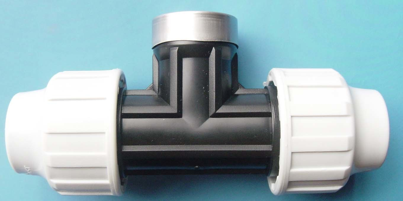 China plastic compression fitting yl pipe