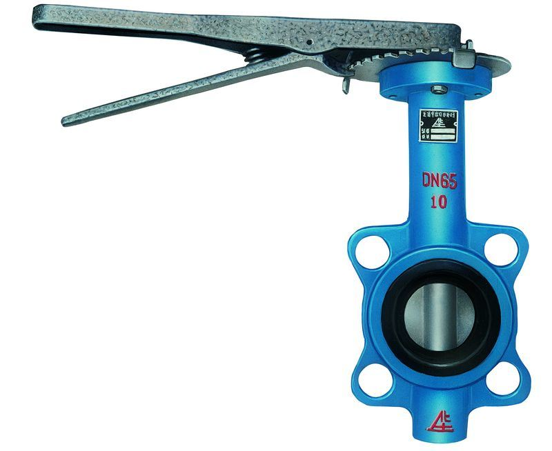 Lever Butterfly Valve : China handle wafer butterfly valve